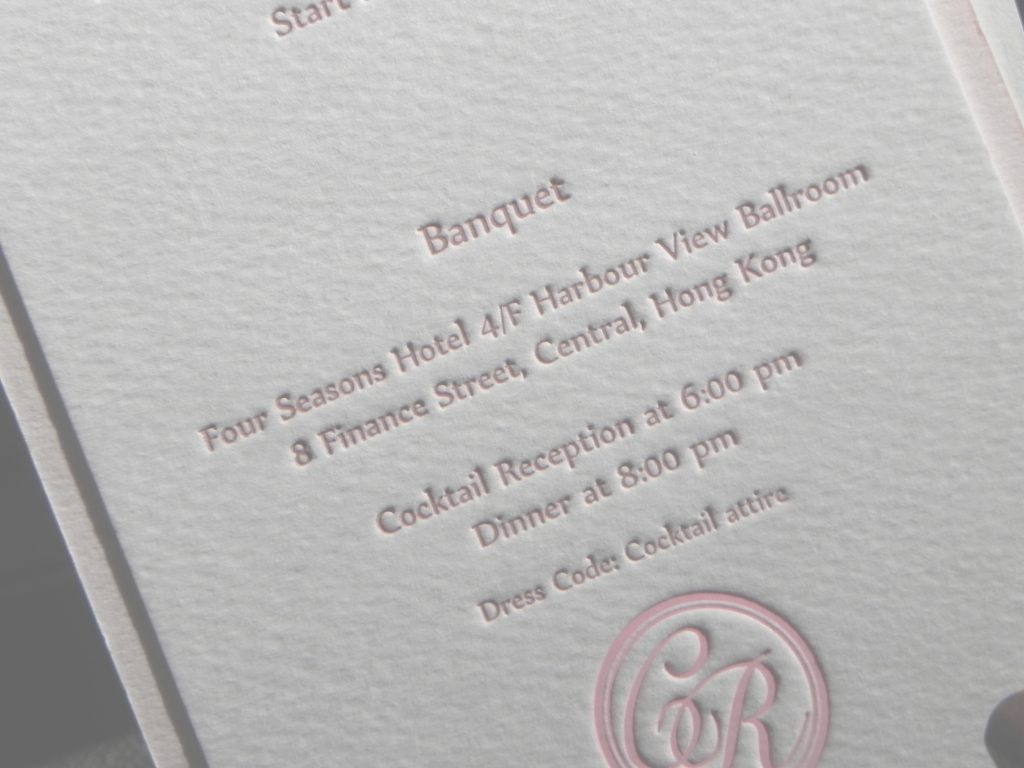 Letterpress Wedding Card – Iprintnet